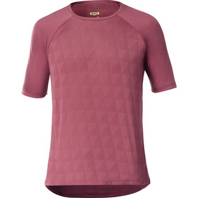 Mavic XA Pro Graphic Jersey Heren, earth red